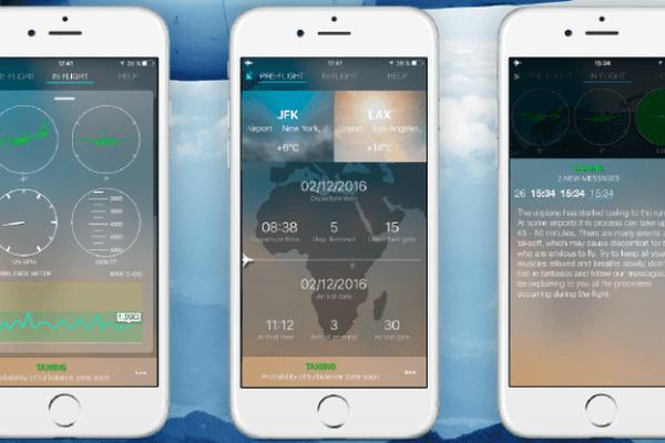 Sky Guru : une application mobile pour ne plus avoir peur en avion