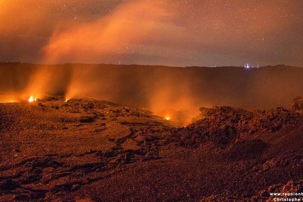Volcan nuit mai 2018