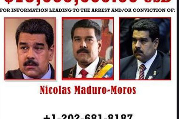 Mandat d'arrestation de Nicolas Maduro