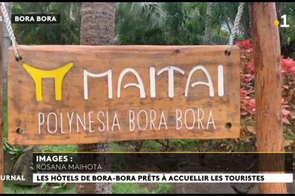 Timide reprise pour l'hôtel Maitai Bora