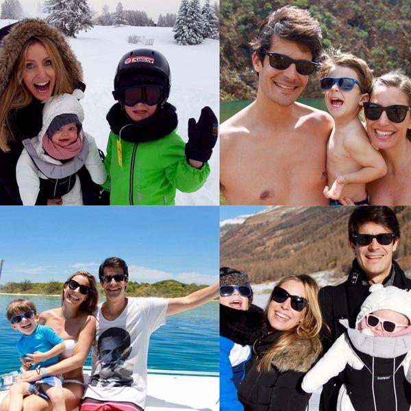 La journaliste vit en Suisse avec sa famille