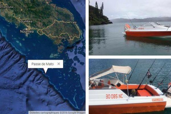 ilôt kouaré : bateau des pêcheurs disparus