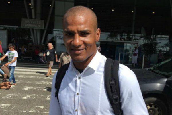 le retour de Florent Malouda en Guyane avant la coupe de la Caraïbes
