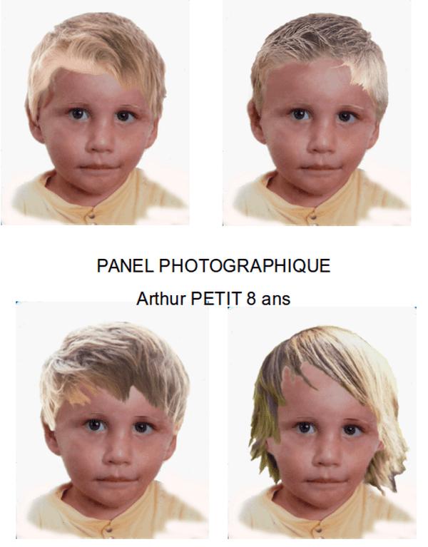 Arthur Petit, 8 ans