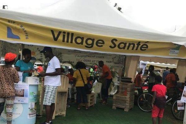 stand santé tour de Guadeloupe