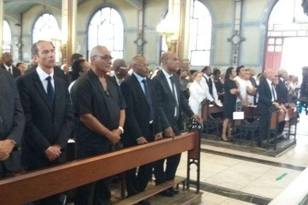 Obsèques MGR Marie-Sainte