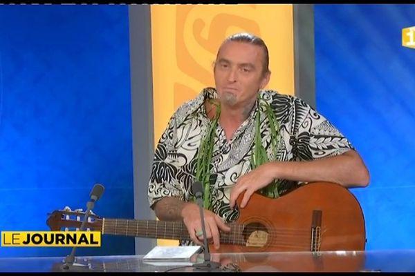 Laurent Degache de retour à Tahiti