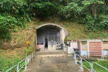 La grotte de Lourdes à Saint Joseph.