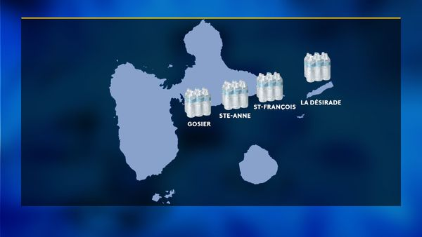 Carte livraison bouteilles d'eau