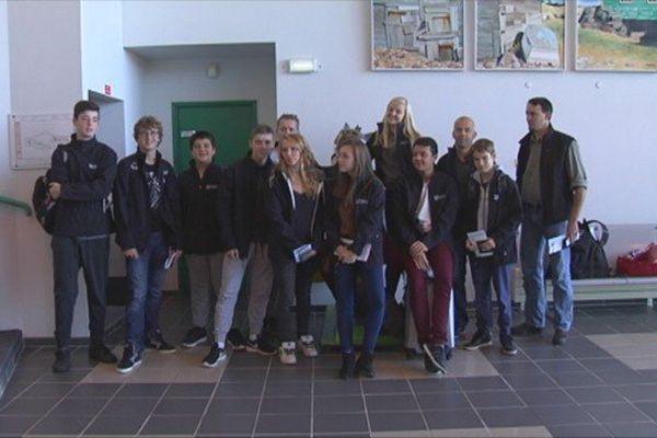 Départ direction le Festival jeunesse de l'Acadie