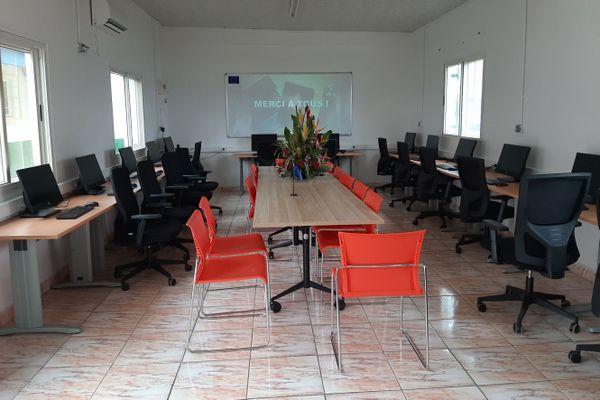 Nouvelle salle de formation en ligne