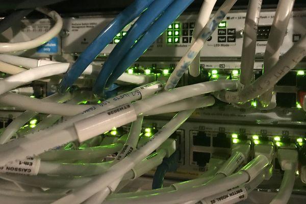 Cablage internet