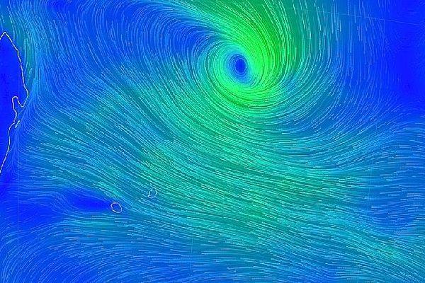 Perturbation tropicale 21 mars 2019