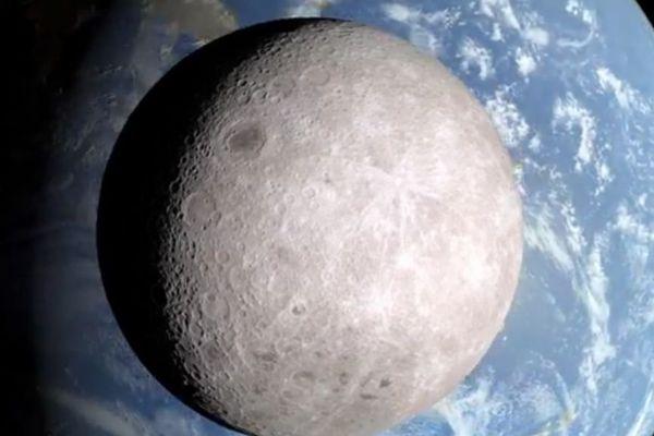 Face cachée lune
