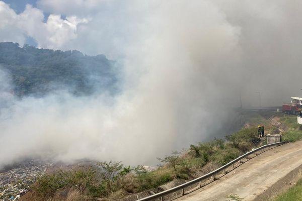 Incendie au Galion