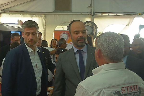 Visite du PM sur le Sarg'Expo