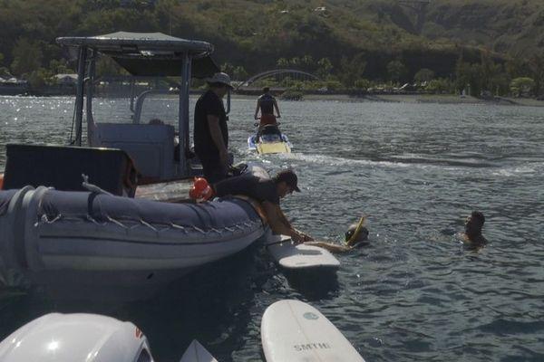 Risque requin contrôle fonctionnement EPI équipement protection individuelle Saint-Leu 150921