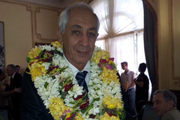 Albert Solia, ministre de l'équipement