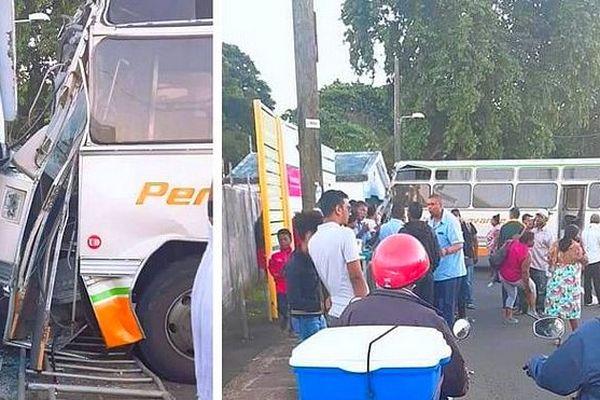 Accident de bus à l'île Maurice