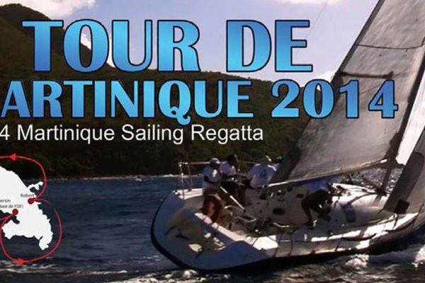 Tour de Martinique à la voile 2014