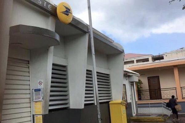 Bureau de poste fermé à Saint-Martin