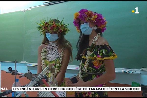 Les ingénieurs en herbe du collège de Taravao fêtent la science