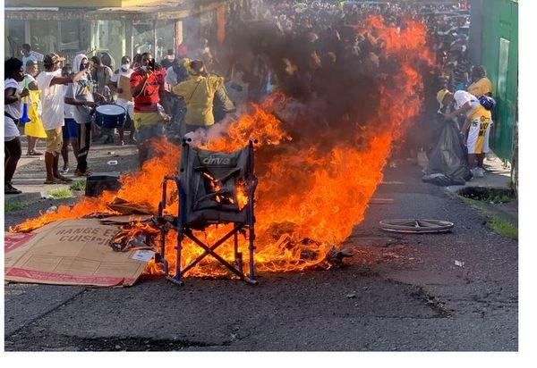 Manifestation à Saint-Vincent et les Grenadines