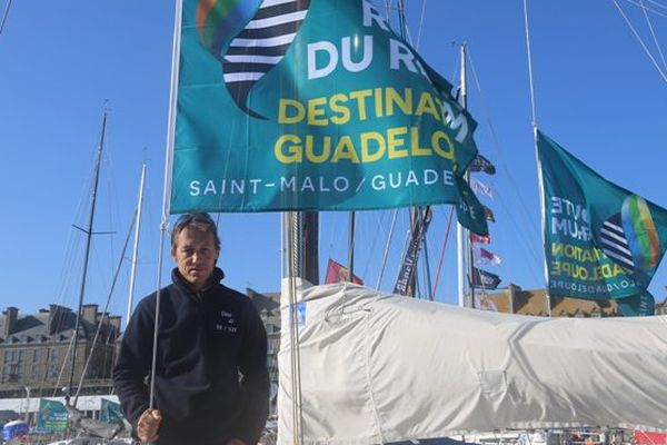 Dominique Rivard Marie Galante Route du Rhum