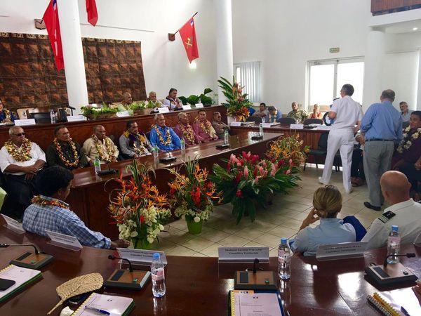Assemblée Territoriale en 2017