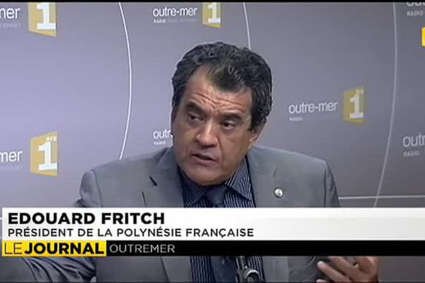 Édouard Fritch, porte parole des pays océaniens à la COP 21