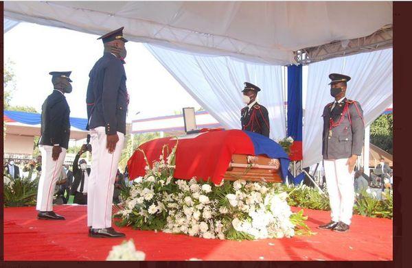 Haïti funerailles Jovenel Moïse