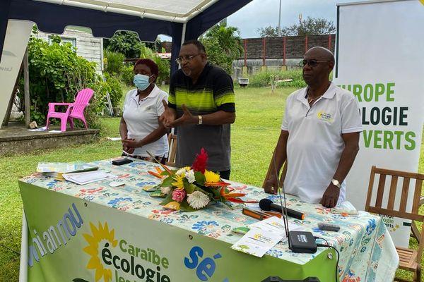 Caraïbes écologie les verts