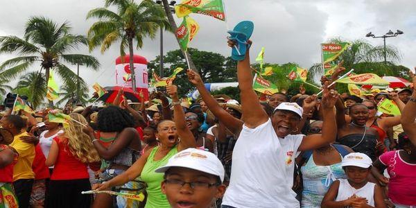 Tour de Martinique yoles