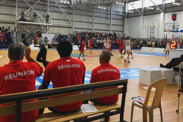 JIOI 2019 basket demi-finale Réunion Maurice féminin 260719