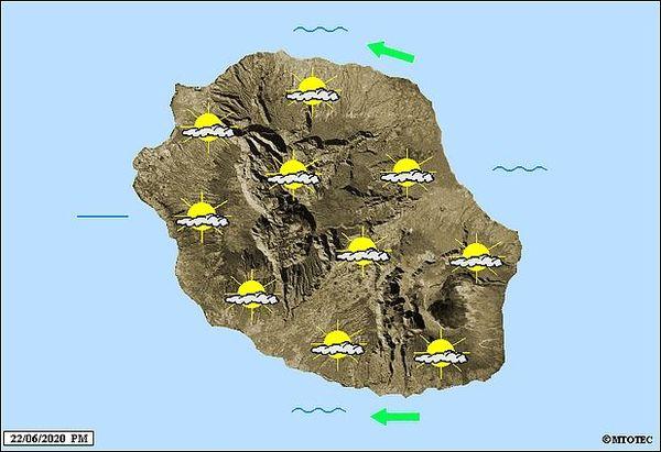 Carte météo 23 juin 2020