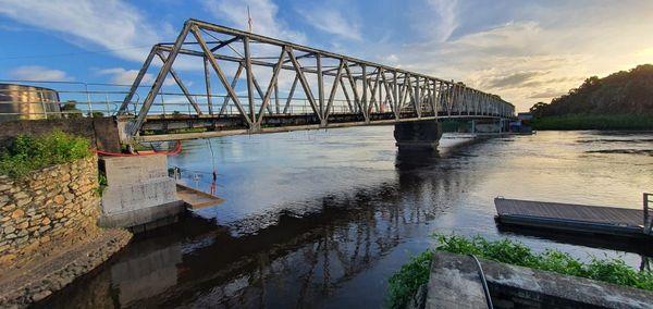 Le pont de Sinnamary