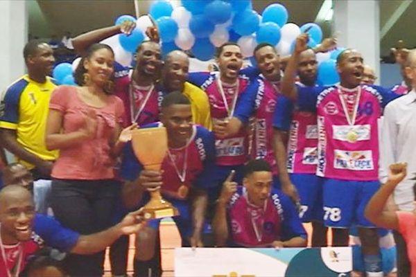 Handball garçons finale coupe de Martinique