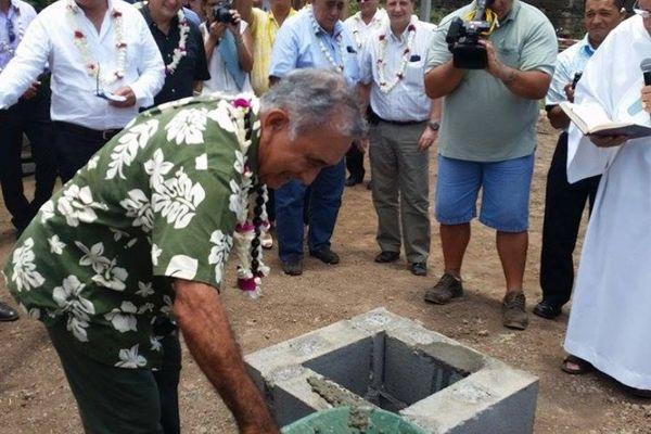 Il regroupera l'OPT et ATN : pose de la 1ère pierre de l'immeuble Tua Rata