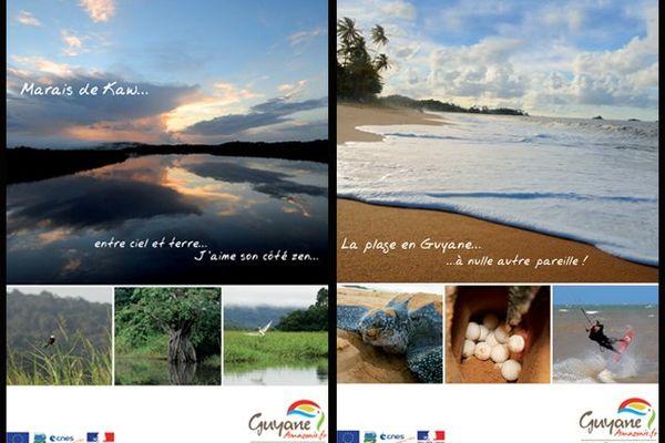 Marais de Kaw - La plage en Guyane