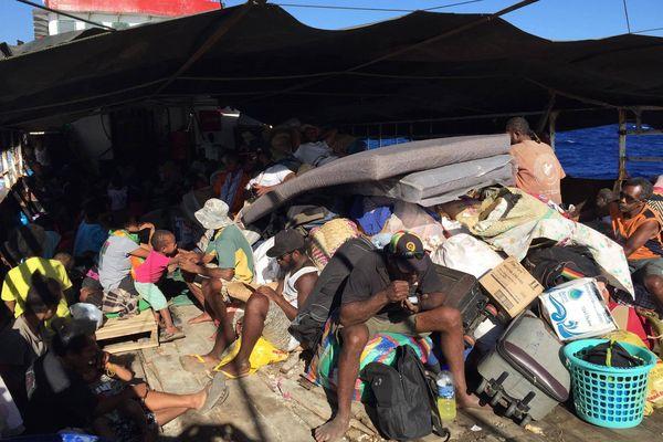 Vanuatu évacuation Ambaé