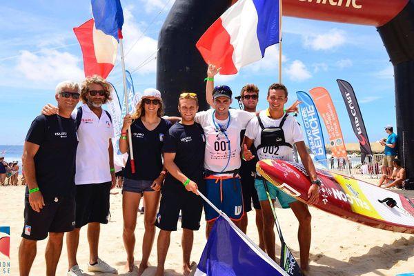 Titouan Puyo champion d'Europe de Sup Race longue distance devant Arthur Arutkin