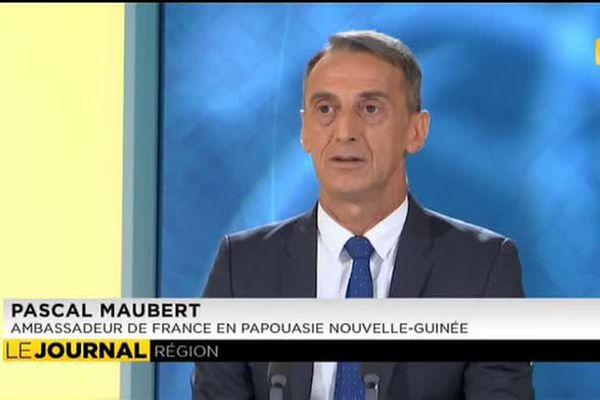 Pascal Maubert, ambassadeur de France en Papouasie Nouvelle Guinée