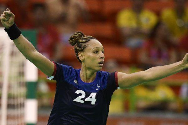 Béatrice Edwige pivot de l'équipe de France