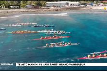 Te Aito Manihi : victoire d'Air Tahiti en V6.