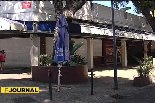 Le restaurant « La terrasse » baisse le rideau