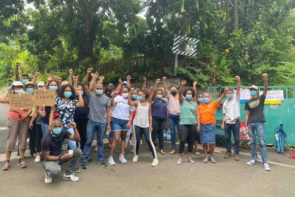 Mouvement de grève des salariés du centre de la ressource de sainte-marie