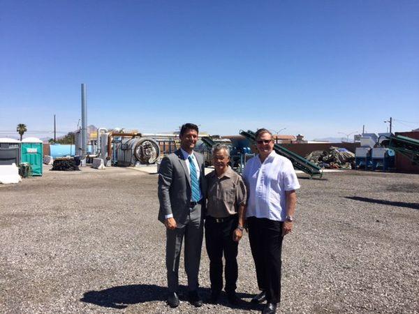 Gaston Tong Sang à Las Vegas