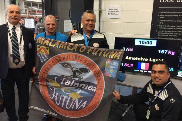 Amet Luaki en argent en Nouvelle Zélande championnat du monde