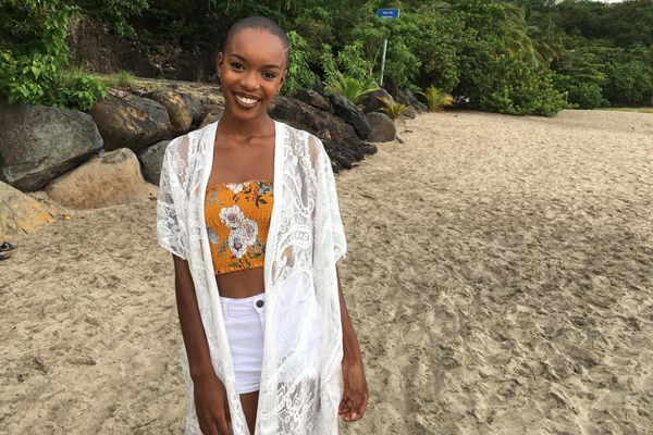 Anaëlle Guimbi, 20 ans, de Sainte-Rose