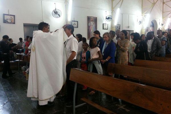 Première messe Père Aho 2